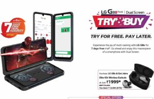 lg g8 thinq 99 rs offer