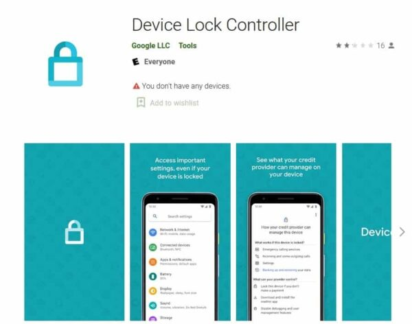 google device controller app